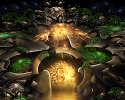 Alien Jungle-The Gateway by SARETTA1