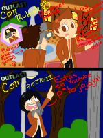 Outlast con rubius y German by x-drawder-x