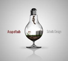 A Cup of Bulb by schaltzdesign