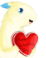 HAPPY VALENTINES DAY by deluxecheeseburger