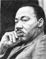 Dr. Martin Luther King Jr. by PMX17