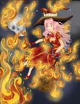 Pyromancer Liza from Brave Frontier by NijiPL