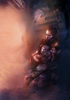 Mass Effect 2 by patryk-garrett