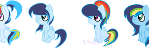 Rainbow Dash x Soarin Shipping Adoptables - Closed by SquishyAdopties