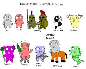 Random People -Greek Mythology