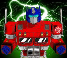 Transformers Optimus Prime by tenimeart