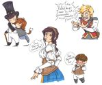 Fable 3 Doodles by NekoHellAngel