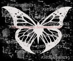 Butterfly patch design by Wilya12