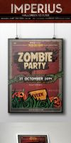 Halloween - V2 - Flyer Template -- Imperius by ImperiusDesigns