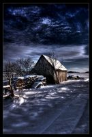 old hut - HDR by Eik84