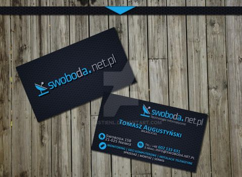 Bussines Card by SebastienL