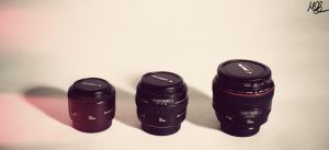 The 50mm Family by Mobster9