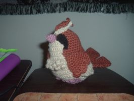 Pidgey Pokemon in progress by Nanettew9