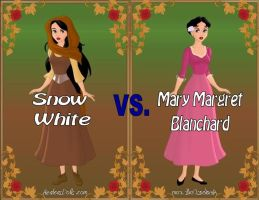 Snow vs. Mary by Sunshine-Girl524