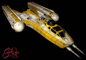 Star Wars Clone Wars Customized Y-Wing JVCustoms by jvcustoms