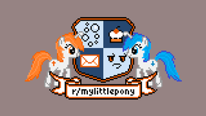 Pony Reddit Coat of Arms by sparklepeep
