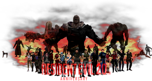 Resident Evil: 20th Anniversary by RPGxplay