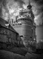 Chateau de Gaasbeek by rhipster