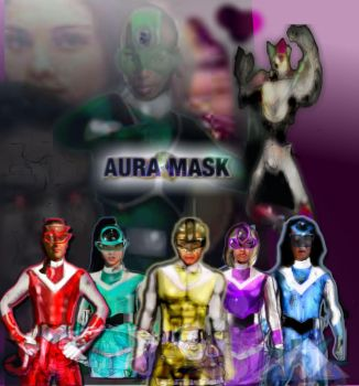 (PDF) AURA MASK VOLUME ONE ISSUES 1-5 by LeveyYes