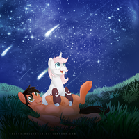 A Stars View Together by SILK-RIBBON