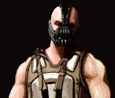 Bane speed painting by FonteArt