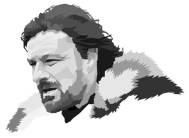 Ned Stark by Tharsius