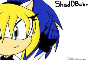 ShadOBabe by allsoniccouplelover