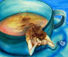 10. Personifying Tea by peachieva