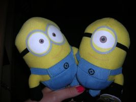 minions! by theladyinred002