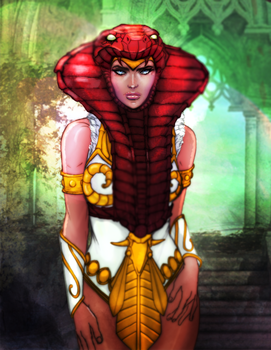 Teela Masters of the Universe by ZachSatherArt