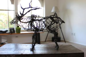 ELK - Wire Sculpture by valdakis
