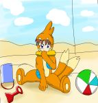 Little beach bum-buizel sleeper by Jonesycat79