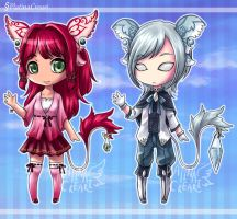 [Auction] Glass Tails 1 (CLOSED) by PlatinaCreari