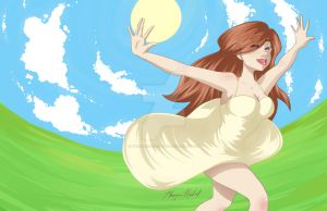210512 sunny day by maureencreates