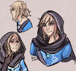 Link Doodles by RuneScratch