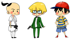 earthbound boys by kirbywirby