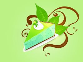 Mint choco pie by mj-coffeeholick