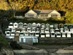 Gower Beach houses by CharmingPhotography