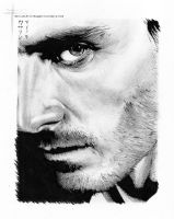 Michael Fassbender by thoughttrainderailed