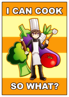 CG-I can cook, so what? by Uzuke