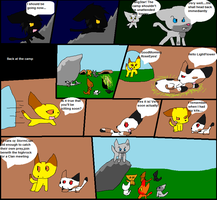 warrior cats comic part 3 by SwiftyNifty