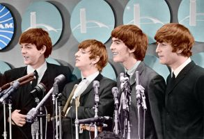 The Beatles Colorized by ajax1946