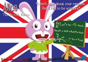 Alice the British Bunny by TeufelKatze