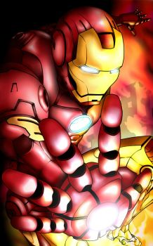 Iron Avenger by squallb