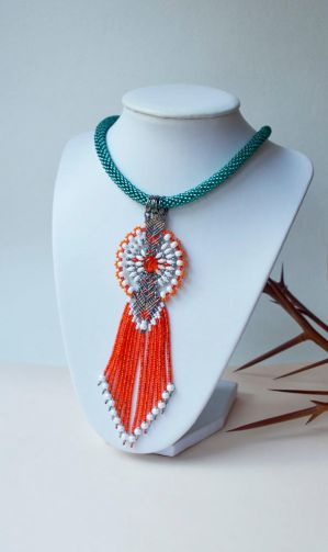 Sparkly and Bright Necklace by borysbrytva
