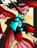 Harpy Descends!! by ArchRizal