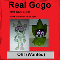 Oh! - Wanted (Tfan0 Drawing Card #18) by tfan0