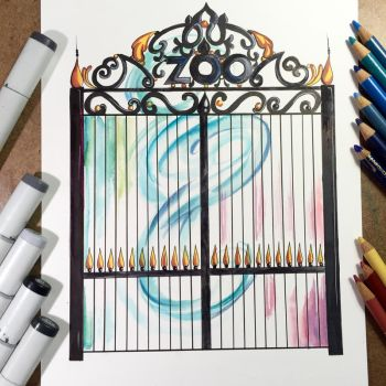 Zoo Gates by Lucky978