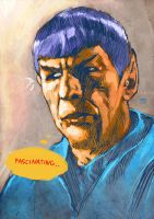 Mr. Spock by gregorl