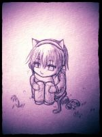 Neko Chibi: Left Behind... by Neko-Shounen